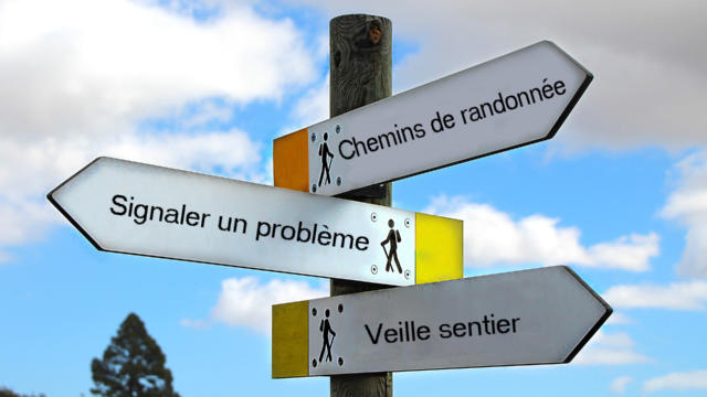 Veille Sentier Sans Arrondi