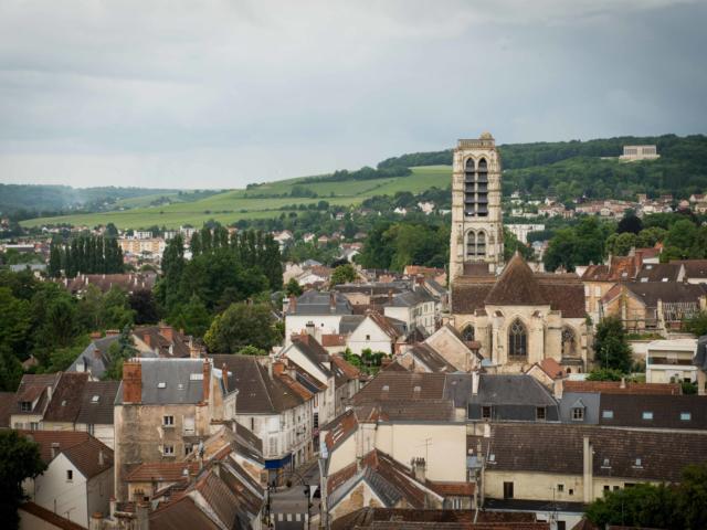 Vue de Château-Thierry